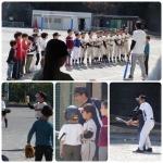 野球体験会開催しました。